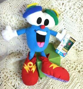 "Olympics Mascot IZZY Plush Stuffed Toy Atlanta 1996 Dakin 11"" Olympic Games NWT"