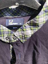 FRED PERRY shirt. Men's xxl Polo Tartan Collar