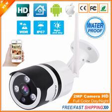 1080P HD WiFi IP Outdoor Camera Wireless Security Surveillance IR Night CCTV Cam