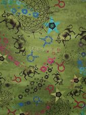 HOROSCOPE SIGNS FABRIC TAURUS  BY THE 1/2 YARD  NEW FROM FABRI-QUILT