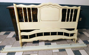 Henry Link French Provencial Twin bed frame Headboard footboard Dixie