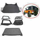 6pcs For 1997-2006 Jeep Wrangler Premium Replacement Soft Top Upper Skins