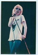 "BLONDIE Debbie Harry Doctor X unofficial photo 5x3"" - Debbie with mic"