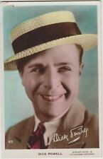 DICK POWELL Actor Director Singer Warner Bros Pictures Coloured Photo PC c1930s