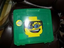 Lego Project Storage Case Store Lego Pieces Green Used #498797