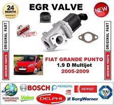 FOR FIAT GRANDE PUNTO 1.9 D Multijet 2005-2009 EGR VALVE 2-PIN with GASKET