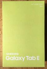Samsung Galaxy Tab E SM-T560 16GB, Wi-Fi, 9.6in - Black