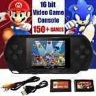 NEW PXP 3 Portable Video Game Player Bundle 16 Bit 150+ Games Handhold Gift Kids