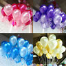 10-100 PCS PEARLISED HELIUM LATEX PEARL BALLOONS 12INCH WEDDING BIRTHDAY PARTY