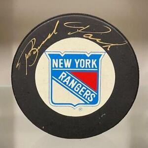 SIGNED Brad Park (New York Rangers) Hockey Puck (w/COA)