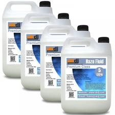 UKDJ 4x 5L Premium Class Quality Haze Mist Fluid Suitable For Hazer Machines 20L