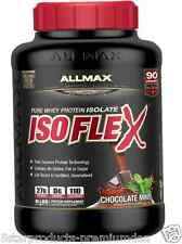 2X NEW ALLMAX NUTRITION ISOFLEX PURE WHEY PROTEIN ISOLATE SOURCE KOSHER NO SUGAR