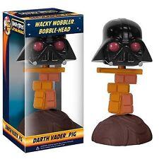 Wacky Wobbler Angry Birds Star Wars Darth Vader Pig Funko 029993