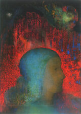 Joan of Arc   by Odilon Redon   Paper Print Repro