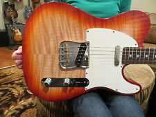 Fender Custom Shop Custom Deluxe Telecaster AAA Flame Top Sienna Burst 2013