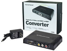 Composite S-Video & HDMI® to HDMI Converter and Switch w/ HDMI PAL NTSC - 9994