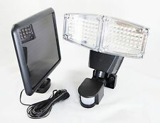 100 SMD LED Double Head Solar Powered Motion Sensor Activated Security Light