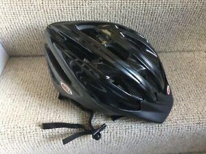 Adult Bell Ukon Bicycle Cycle Helmet B095X 54-61cm 325g Black Mountain bike Men'