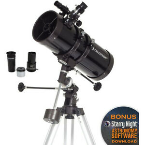 Celestron Powerseeker 127 EQ Reflector Telescope Kit #21049 (UK Stock) BNIB Astr