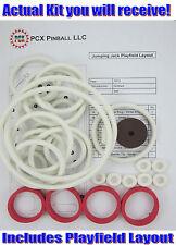 1973 Gottlieb Jumping Jack Pinball Machine Rubber Ring Kit