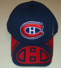 Montreal Canadiens 2015 Draft Hat Cap L/XL NHL Hockey Players Flex Fit Reebok