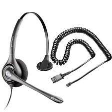 Plantronics HW251N Headset + U10P for Avaya 1408 1416 2410 5410 6408