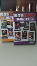 MODERN DRUMMER FESTIVAL 2008 Schlagzeug Drum 4 DVD´s