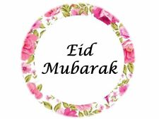 100 Eid Mubarak Stickers Muslim Islam Floral (208) Decorations Sticker Gift