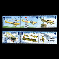 Alderney 1995 - Airplanes 100th Anniv. of the Birth of Tommy Rose - Sc 88.9 MNH