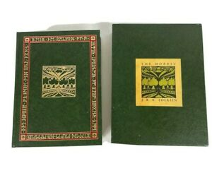 1966 The Hobbit J.R.R. Tolkien Collector's Hardcover Book with Illustrations
