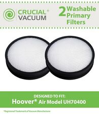 2 REPL Hoover / WindTunnel UH70400 Air Model Primary Filters Part # 303903001