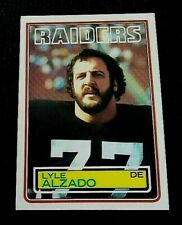 1979 TOPPS LYLE ALZADO #295 OAKLAND RAIDERS AUTHENTIC CARD WOULD GRADE $$$!!!