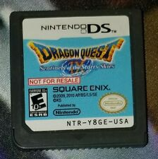 Dragon Quest IX Sentinels of the Starry Skies Not For Resale Demo DS Nintendo