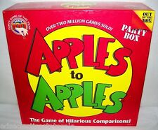 Out of the Box ©2007 APPLES TO APPLES Party Box Game COMPLETE PARTY FUN!