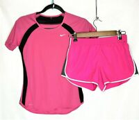 Lot of 2 Pink Sportswear Women/Junior Nike Authentic American Heritage Sz XS /14