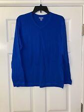 Old Navy Classic Long Sleeve T-Shirt Men's Medium Blue