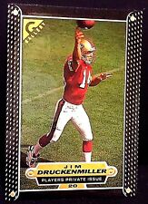 JIM DRUCKENMILLER 1997 Topps Gallery PLAYERS PRIVATE ISSUE Rookie /250 SP 49ers