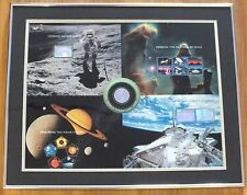 Space Achievement & Exploration Stamp Expo 2000 Framed/Matted Uncut Proof Sheet