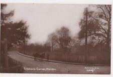 Tribbon's Corner Morden Surrey RP Postcard, B724