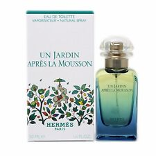 HERMES UN JARDIN APRES LA MOUSSON EAU DE TOILETTE SPRAY 50 ML/1.6 OZ. NIB-22937