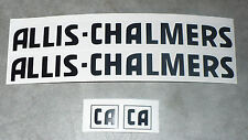 DECAL SET for ALLIS-CHALMERS CA or C Pedal Tractor, Adhesive Backed  AP103