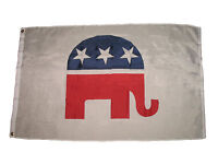 Republican Party Super Poly 3'x5' 3x5 Premium Quality Flag House Banner Grommets