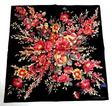 POLO Ralph Lauren Handkerchief hanky scarf bandana Black Auth New Collectible