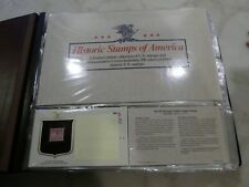 HISTORIC STAMPS OF AMERICA  Limited Edition Collection US Set of 200 1985-1988