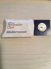💜  P&O Cruises Ship Peninsular Club Mediterranean Tier Metal Lapel Pin Badge 💜