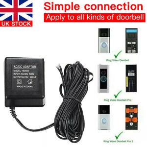 Power Supply Video Doorbell Smart Phone Door Ring Intercom Camera Security Bell