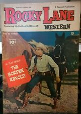 Rocky Lane Western Collectible Comic #7 1949