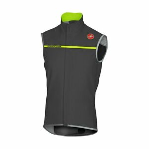 Castelli Mens Perfetto Cycling Vest - Anthracite 4516508-009 Gore Windstopper