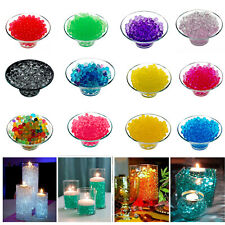 100000pcs Water Beads Aqua Bio Crystal Gel Balls Wedding Vase Filler Party Decor