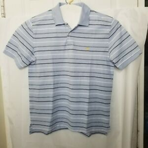 Brooks Brothers men's Shirt 1818 Performance Polo original fit Striped Size L A1